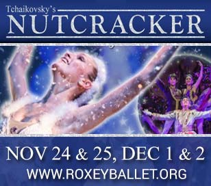 ROXEY BALLET'S SENSORY FRIENDLY NUTCRACKER in The College of New Jersey Kendall Main Stage Theater