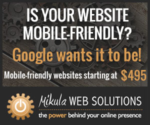 Mikula Web Solutions wants your website to look good on all devices. That's why we have introduced Responsive Design to our website services (Google's preferred method of mobilization). With this coding technique, a single website will reformat its layout in order to look best on whichever device it is being viewed on, be it a desktop, laptop, tablet or smartphone. It's impossible to ignore the rapidly growing number of potential customers who are viewing your website on their mobile devices. Google reports that over half of their users are on a mobile device and have announced that as of April 21, 2015, they are updating their mobile search ranking to take into account whether or not a website is mobile-friendly. If it isn't, this could affect its ranking in the search results on mobile devices.